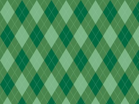 Argyle ● Green × Green