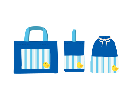 Sedge bag set _ blue