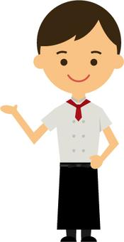 餐廳服務員