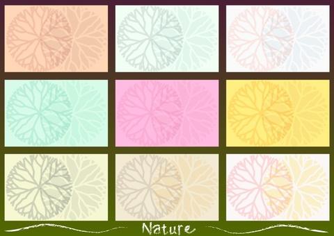 카드 디자인 : 자연
