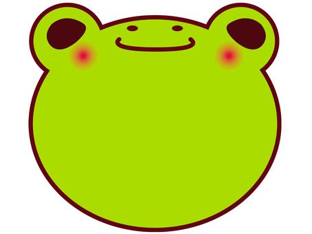 Frog notepaper