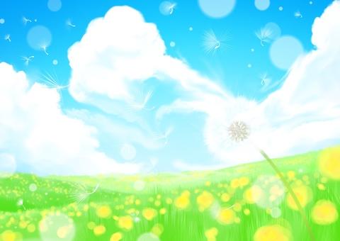 푸른 하늘과 들판과 ...
