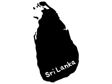 Sri Lankan silhouette