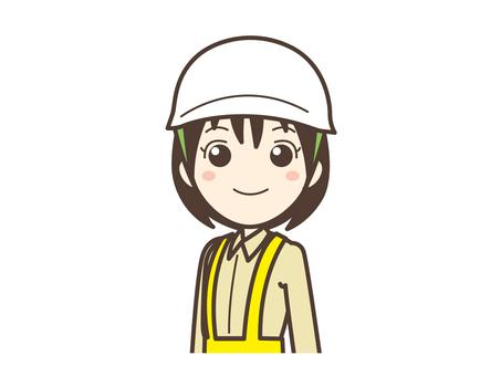 A012_現場作業の女
