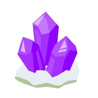Amethyst ore