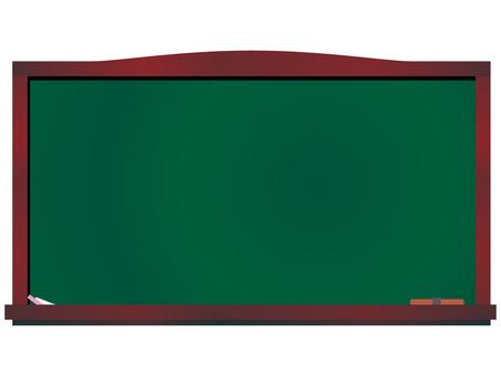 Blackboard horizontal menu board welcome board