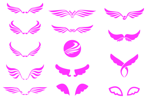 Wing symbol mark