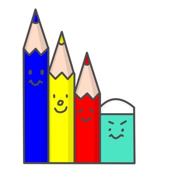 색연필과 지우개