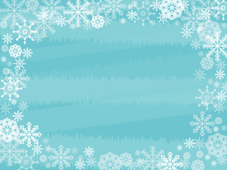 Snow crystal wallpaper side 1