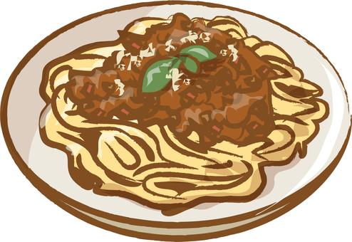 spaghetti meatsauce