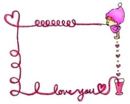 卡:我愛你。