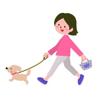Walk with pet