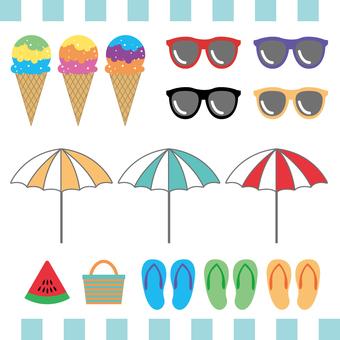 Summer pattern assortment