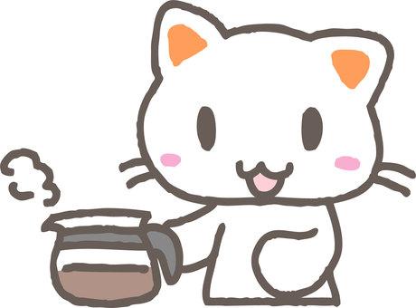 커피와 고양이