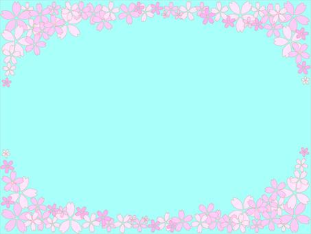 Cherry Blossom Frame 8