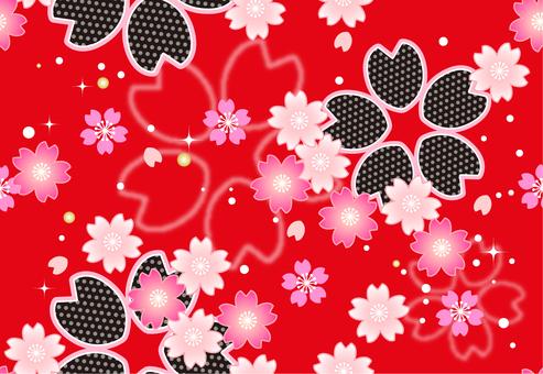 Sakura Japanese Pattern Endless