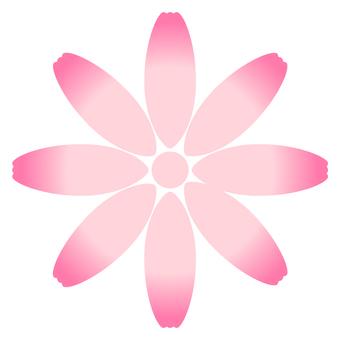 Flower Mark (Pink Gradient