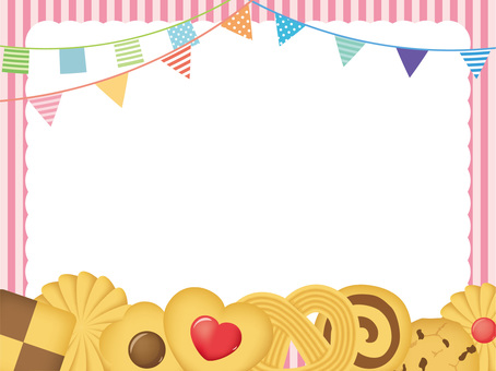 Sweets party frame