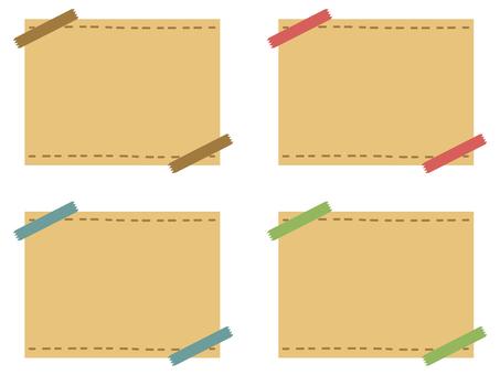 Notepad tape craft