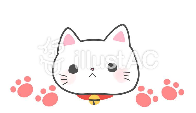 手書き風猫