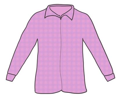 Casual shirt (purple)