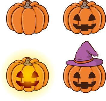 Halloween's Jack O Lantern Set