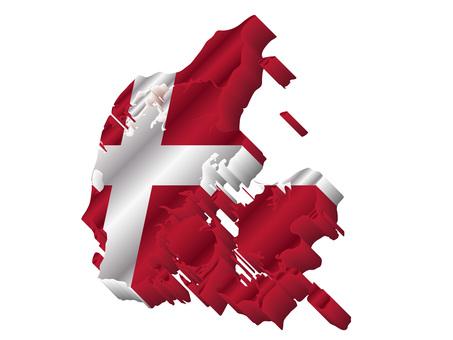 デンマーク国旗国土