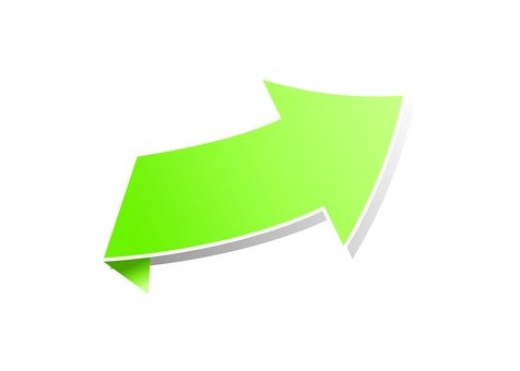 Right arrow (yellow green)