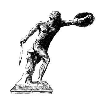 Borghese's gladiator painter
