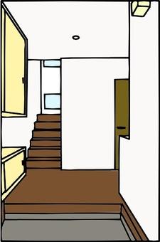Entrance color