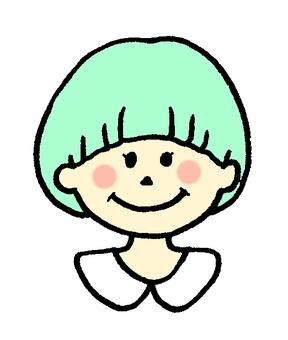 Mushroom bob girl