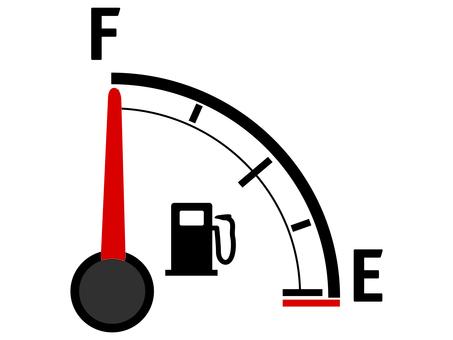 Gasoline filling up