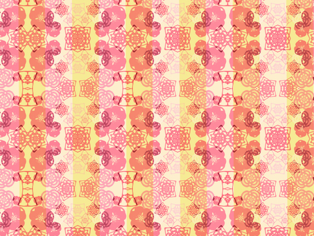 Japanese Pattern Background (Pink)