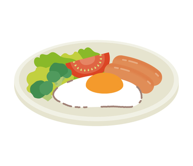 아침 계란 후라이