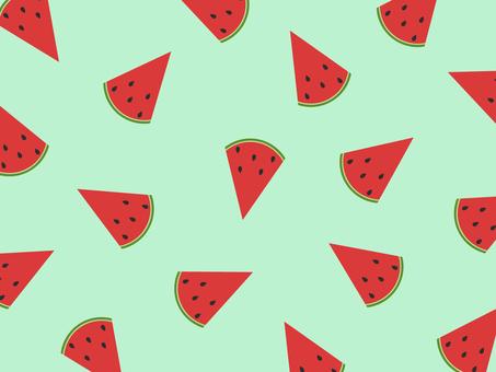Watermelon background green