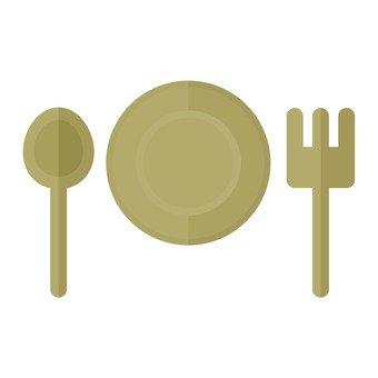 Dessert tableware