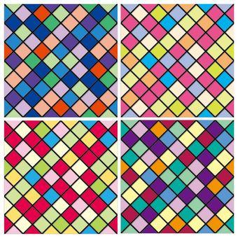 Mosaic pattern set