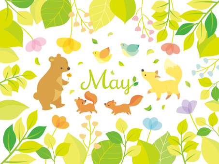 Illustration of May (2)