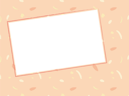 Pink background frame