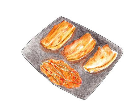 삼겹살 (한국의 불고기)