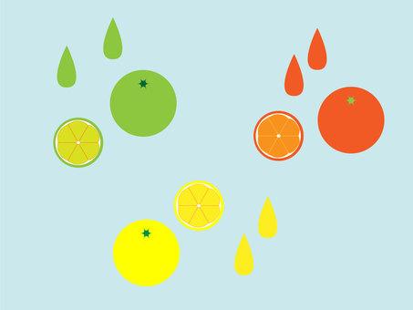Orange and lemon