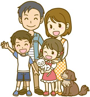 Family: A_ 2 generations (pet) FS