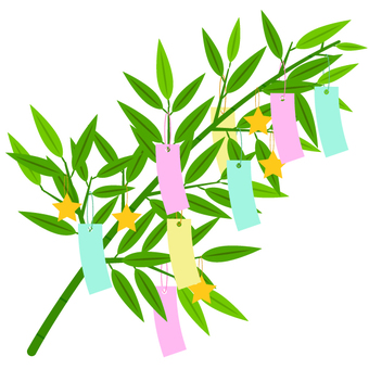 Bamboo decoration (Tanabata decoration)