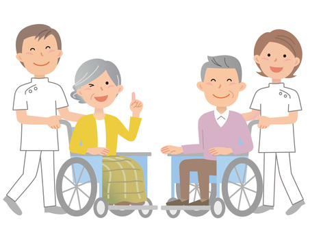 61013. Wheelchair, Caregiver, 2 pairs