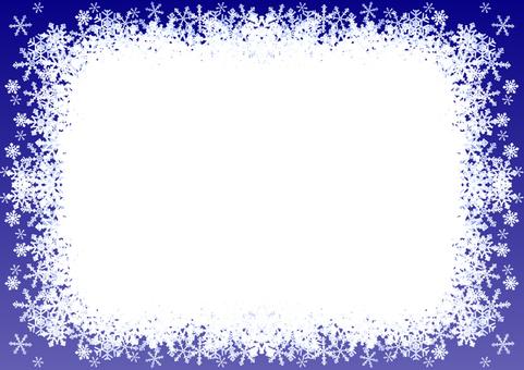 눈송이의 메시지 카드 -3