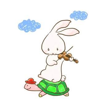 バイオリンうさぎ27
