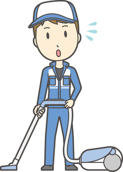 Male mechanic-288-whole body