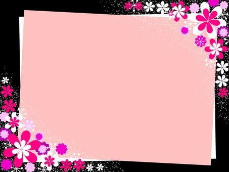 Flower decoration frame