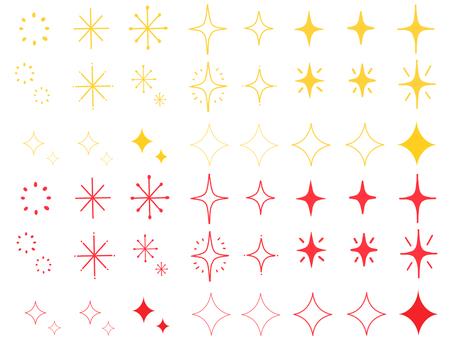Glitter material icon