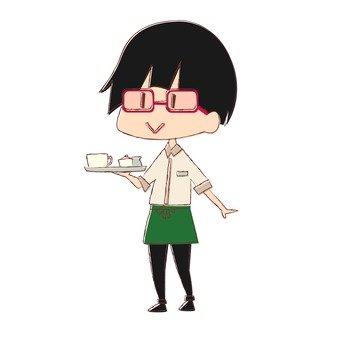 Cafe clerk 2